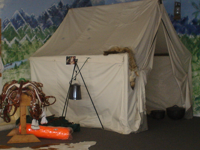 Camp store for How to build a wall tent